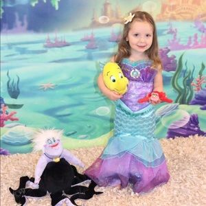 disney little mermaid ariel dress